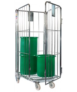 Nestable Roll Cage - 4 Sided - NRC4