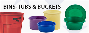 Bins, Tubs & Buckets