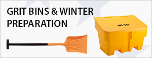 Grit Bins & Winter Preparation
