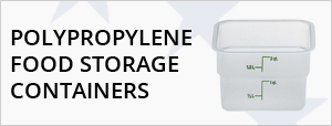 Polypropylene Food Storage Containers