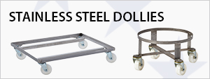 Stainless Steel Dollies