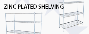 Zinc Plated Shelving