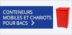 Conteneurs Mobiles Et Chariots Pour Bacs