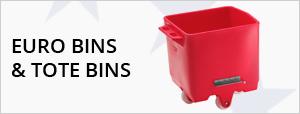 Plastic Eurobins & Tote Bins
