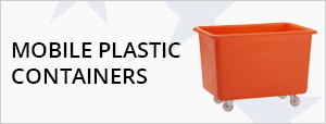Mobile Plastic Containers, Trucks & Bins