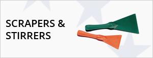 Hand Scrapers & Hand Stirrers