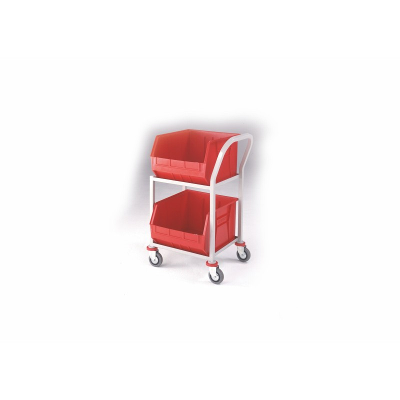 2 Shelf Picking Trolley