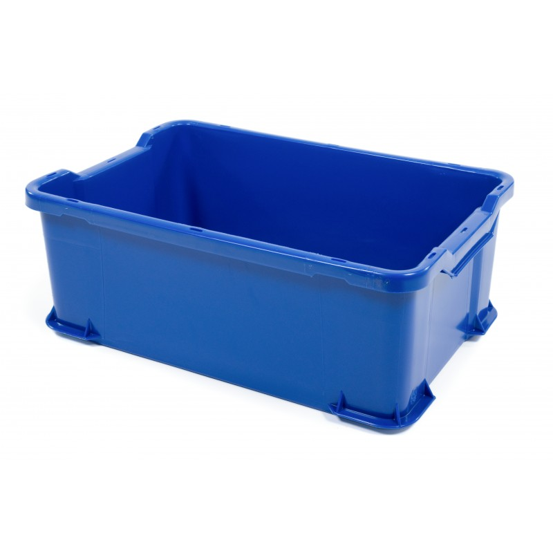 Hygienic Stacking Container 600x400x225mm - UB905