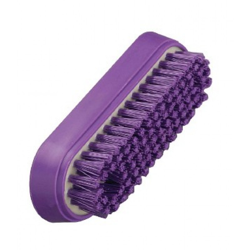 Anti-Microbial Nail Brush Stiff Bristled - AMNA4