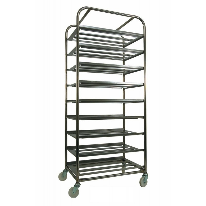 Stainless Steel Bakery Trolley - RM9SS