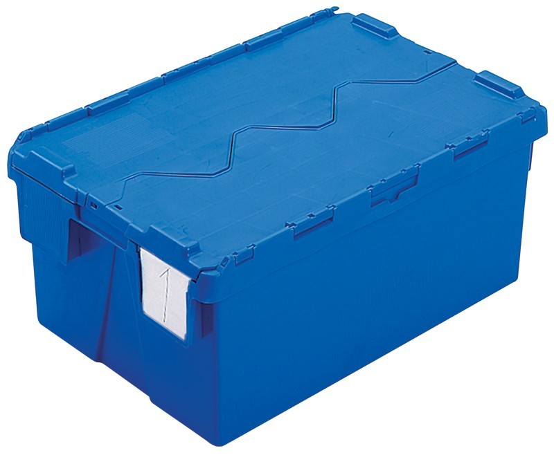 Attached Lid Containers Attached Lid Crates Plastic
