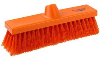 Sweeping Broom 280mm Soft Bristled | Hygiene - Brushware