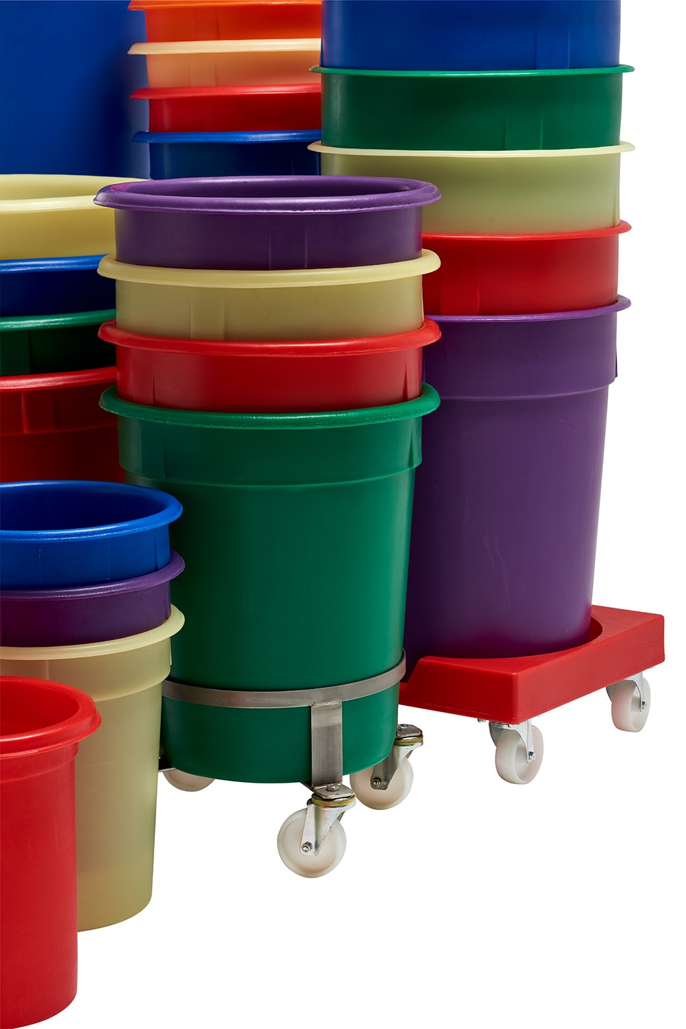 Tapered Bin Tapered Moulded Tubs Food Grade Bins