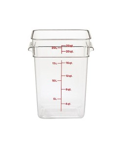 Polycarbonate Food Container 20.8 Litre - 22SFSCW