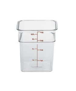 Polycarbonate Food Container 3.8 Litre - 4SFSCW