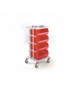 4 Shelf Picking Trolley
