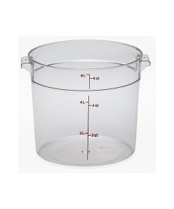 Polycarbonate Round Food Container 5.7 Litre - RFSCW6