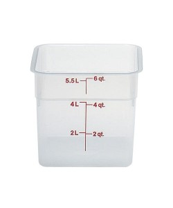 Polypropylene Food Container 5.7 Litre - 6SFSPP