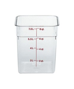 Polycarbonate Food Container 7.6 Litre - 8SFSCW