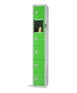 Six Door Steel Locker - LKS6