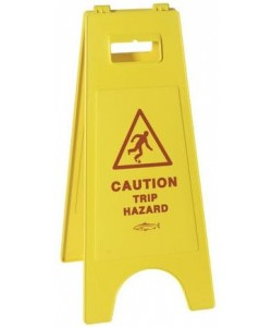 Caution Trip Hazard Sign - 8617GB