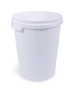 Plastic Bucket with Airtight Lid - 60 Litres - V600