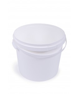 Plastic Bucket with Airtight Lid - 16 Litres - V160
