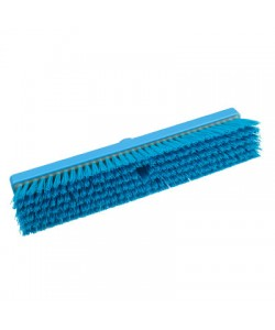 Blue Sweeping Broom 457mm Stiff Bristled - B994