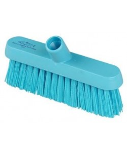 Blue Sweeping Broom 230mm Medium Bristled - B929