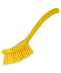 Long Handled Brush Stiff Bristled - D9