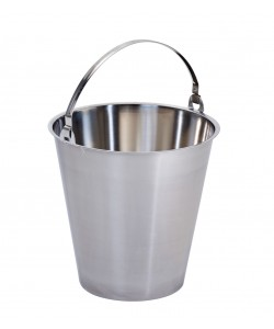 Stainless Steel Bucket 10 Litres - MBK10