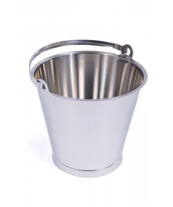 Stainless Steel Bucket 12 Litres - MBK12RF
