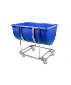 Mobile trough unit