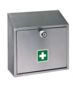 Stainless steel first aid cabinet