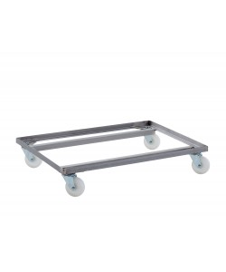 Stainless Steel Double Dolly - HYGIDDSS