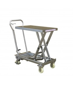 Stainless Steel Hydraulic Lift Table - 100 kg - SSL100