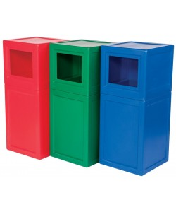 Supertuff Square Litter Bin - LBIN01