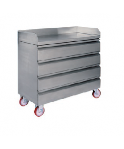 Stainless Steel Mobile Draw Unit