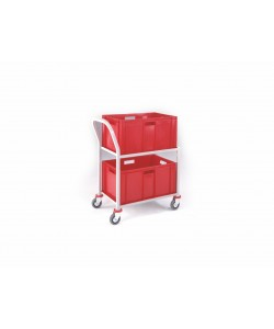 2 Shelf Large Picking Trolley