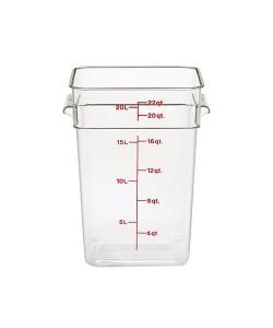 Polycarbonate Food Container 20.8 Litre - 22SFSCW