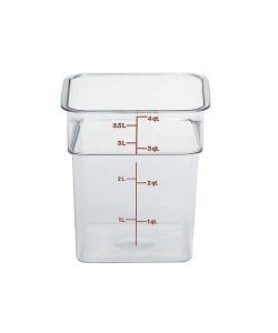 Polycarbonate Food Container 3.8 Litre - 4SFSCW