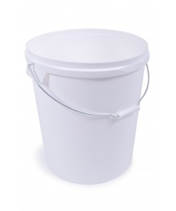 Plastic Pail with Airtight Lid 12 Litre - V120