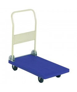Folding Plastic Platform Trolley