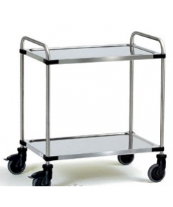 Stainless Steel 2 Shelf Trolley SSTY2