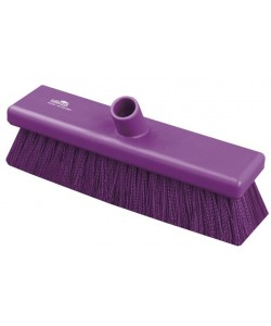 Anti-Microbial Sweeping Broom 305mm Medium Bristled - AMB758