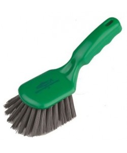 Metal Detectable Short Handled Brush Stiff Bristled - D4MDX