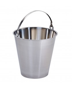 Stainless Steel Bucket - 6 Litres - MBK6