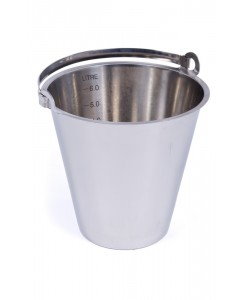Stainless Steel Bucket 6 Litres - MBK6