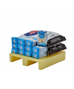Plastic Pallet - 600 x 600 x 150 mm - MINIPAL