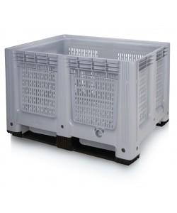 Plastic Pallet Box - 610 Litre - BP1210PGR